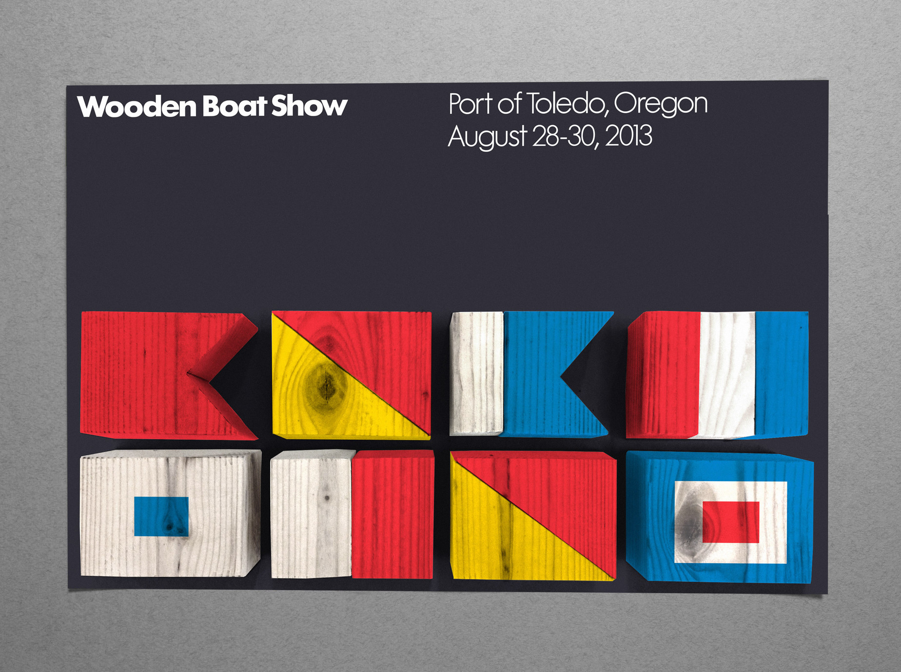 Wooden Boat Show - Promotion project image